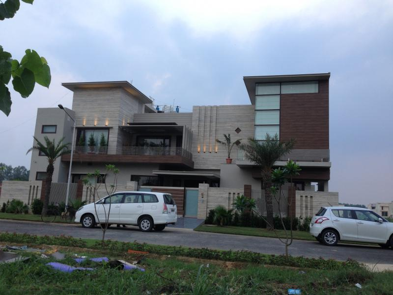 Front Elevation In Ludhiana : Welcome to inscribe architects